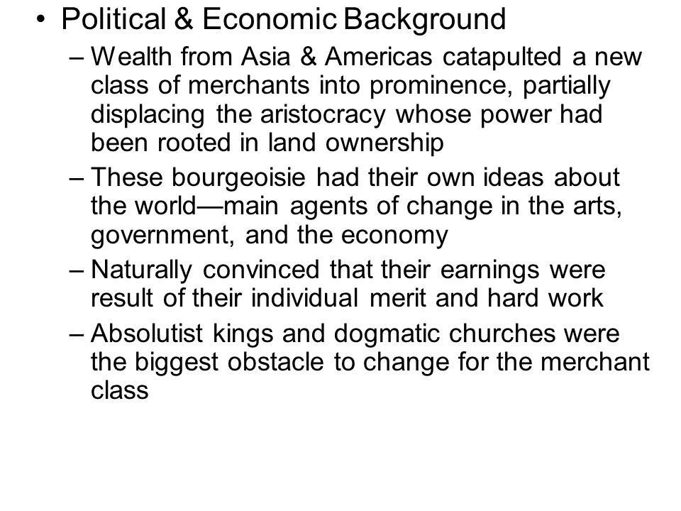 Cause: Economic Changes