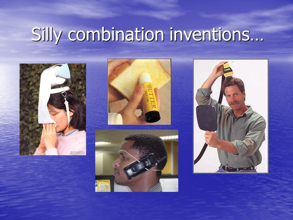 Silly combination inventions…