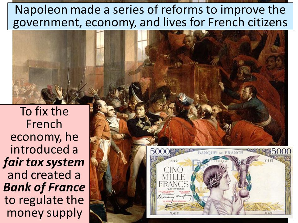 In 1799, a French military general named Napoleon Bonaparte led a coup d'état and seized power in France Similar to Robespierre, Napoleon took advanta