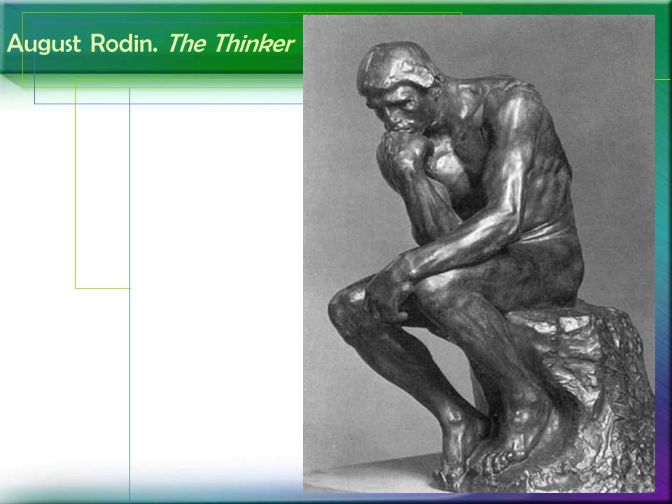 August Rodin. The Thinker