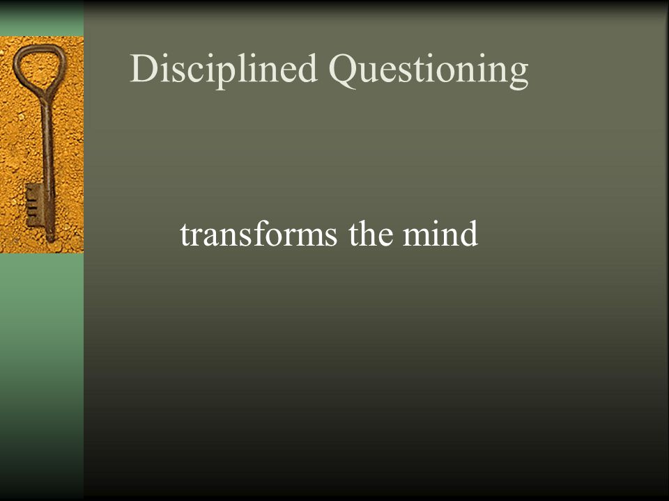 6.1 Think for Yourself: Questioning Your Questions Answer this question: What are the questions you would most like to answer.