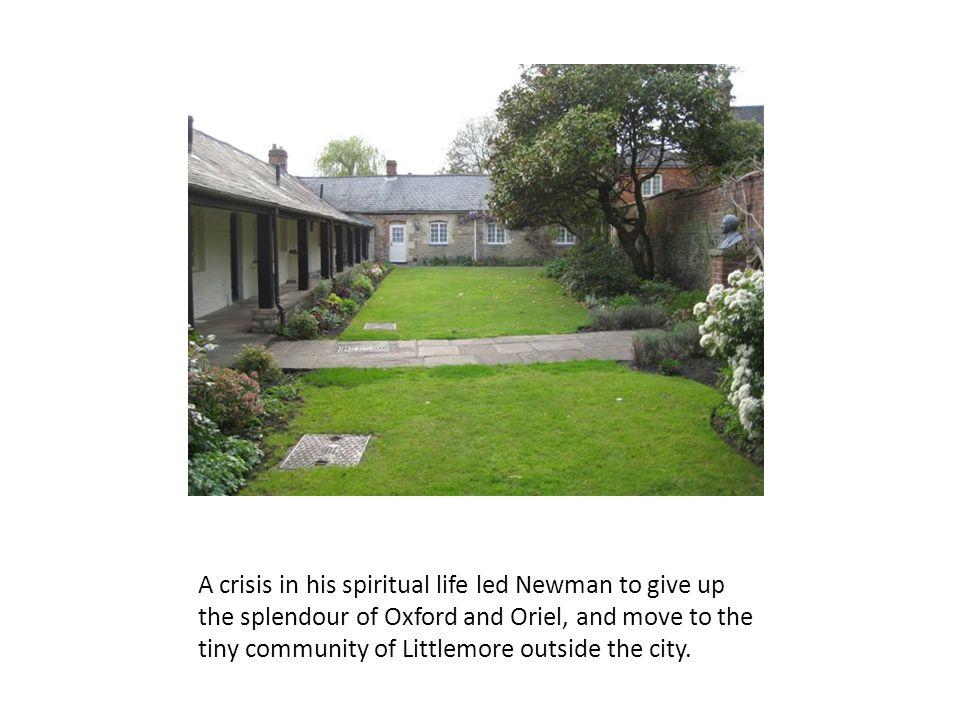 Newman much preferred a quiet grave near his friends.