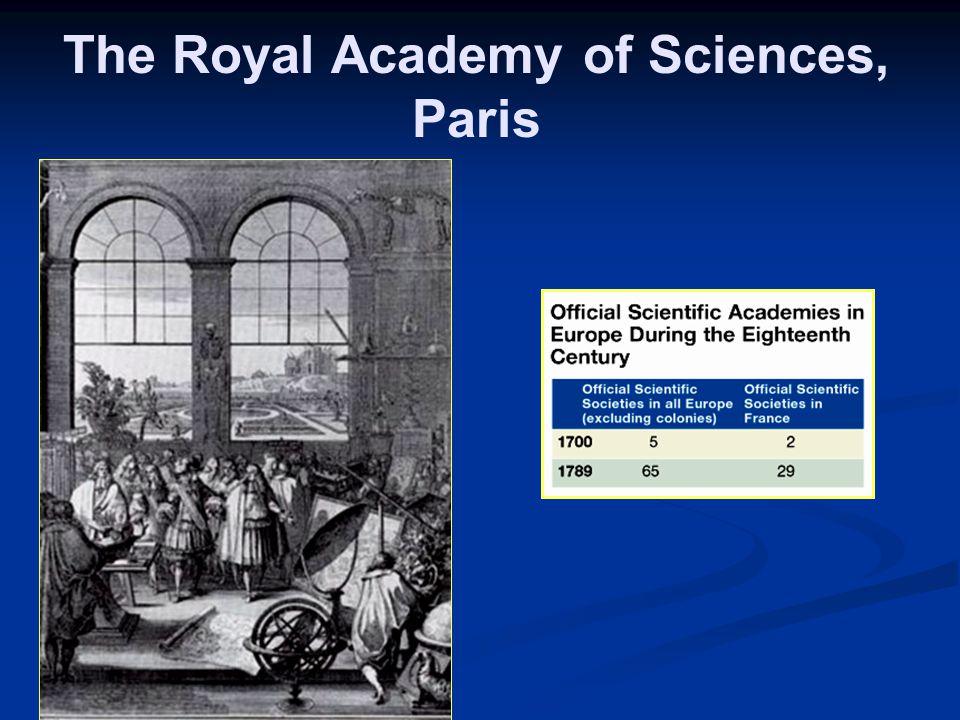 The Royal Academy of Sciences, Paris