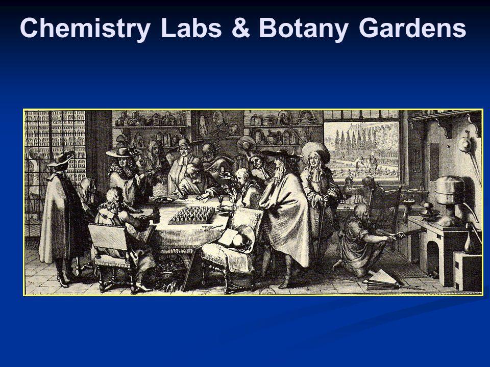 Chemistry Labs & Botany Gardens