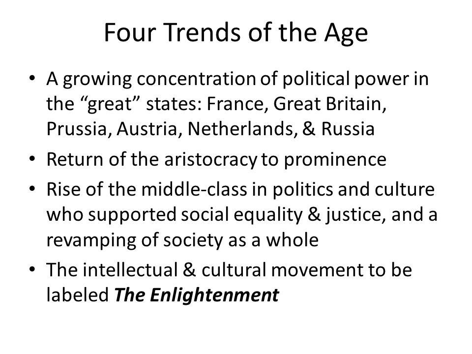 Political Philosophy Prominent political philosophers were Baron de Montesquieu and Jean-Jacques Rousseau