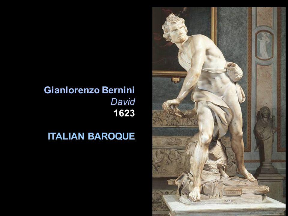 Gianlorenzo Bernini David 1623 ITALIAN BAROQUE