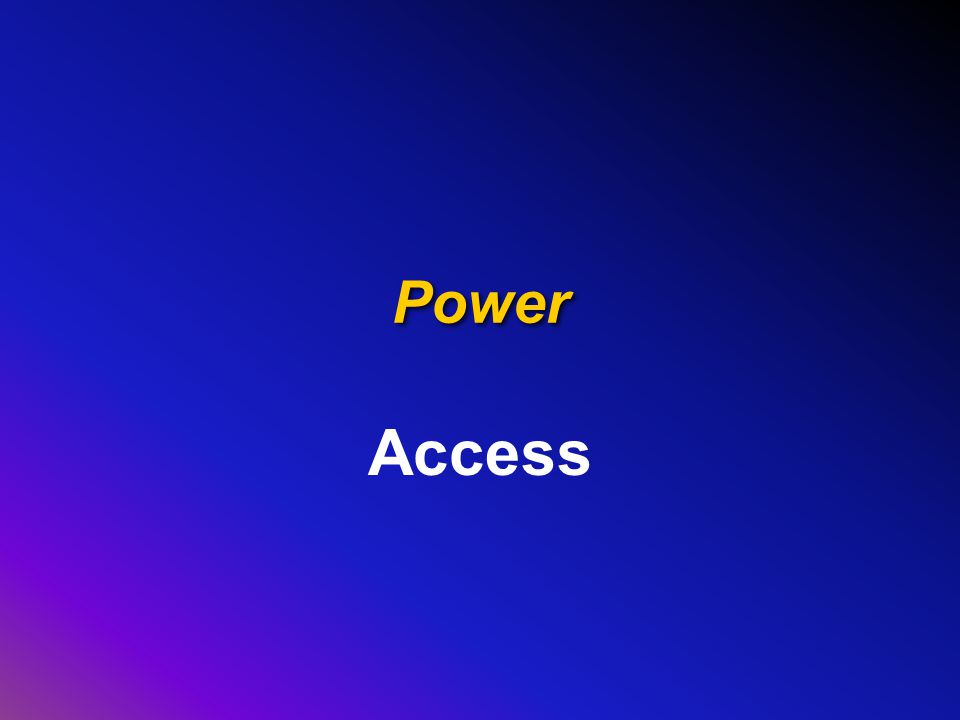 Power Access