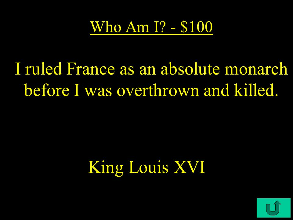 C3-$500 French Revolution- $500 What two liberties did the Napoleonic Code not give French citizens.
