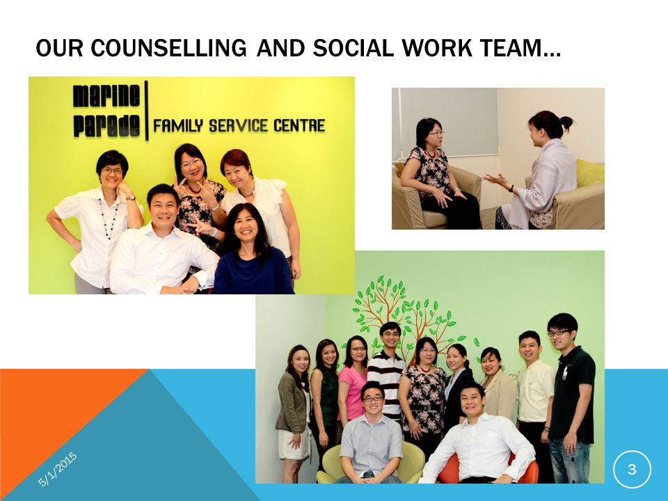 OUR COUNSELLING AND SOCIAL WORK TEAM… 5/1/2015 3