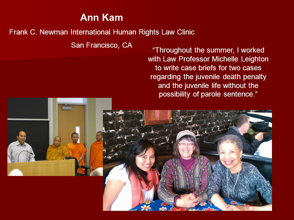 Ann Kam Frank C.