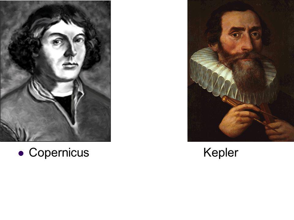 Copernicus Kepler