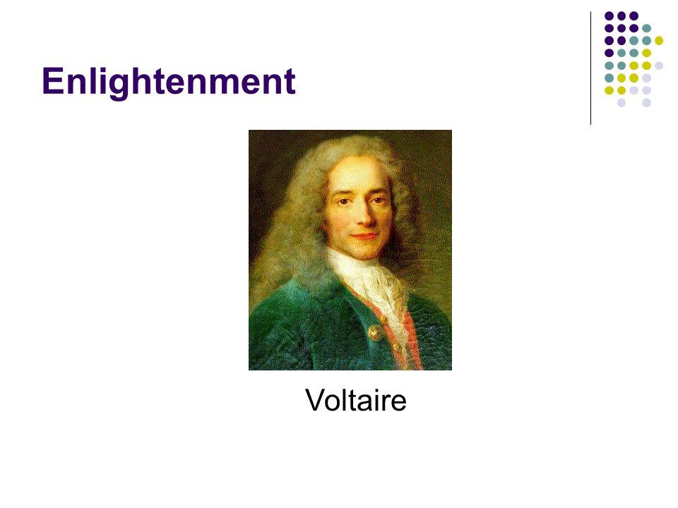 Enlightenment Voltaire