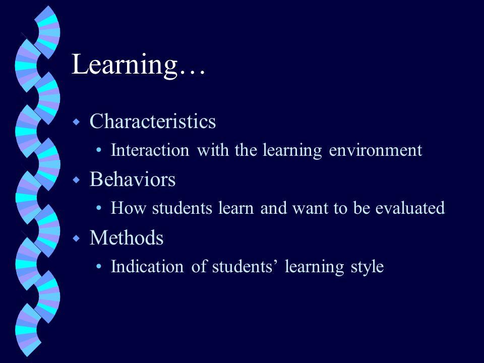 THE WRITTEN LEARNER w Writer w Learn by writing information
