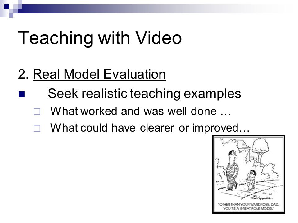 Teaching with Video 2.