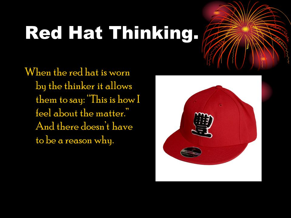 Red Hat Thinking.