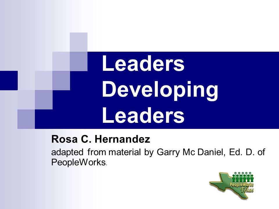 Leadership Competencies Results Driven- Achieves desired results with others.
