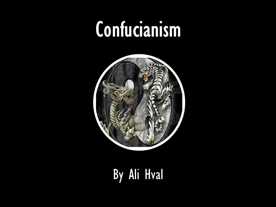 Confucianism By Ali Hval
