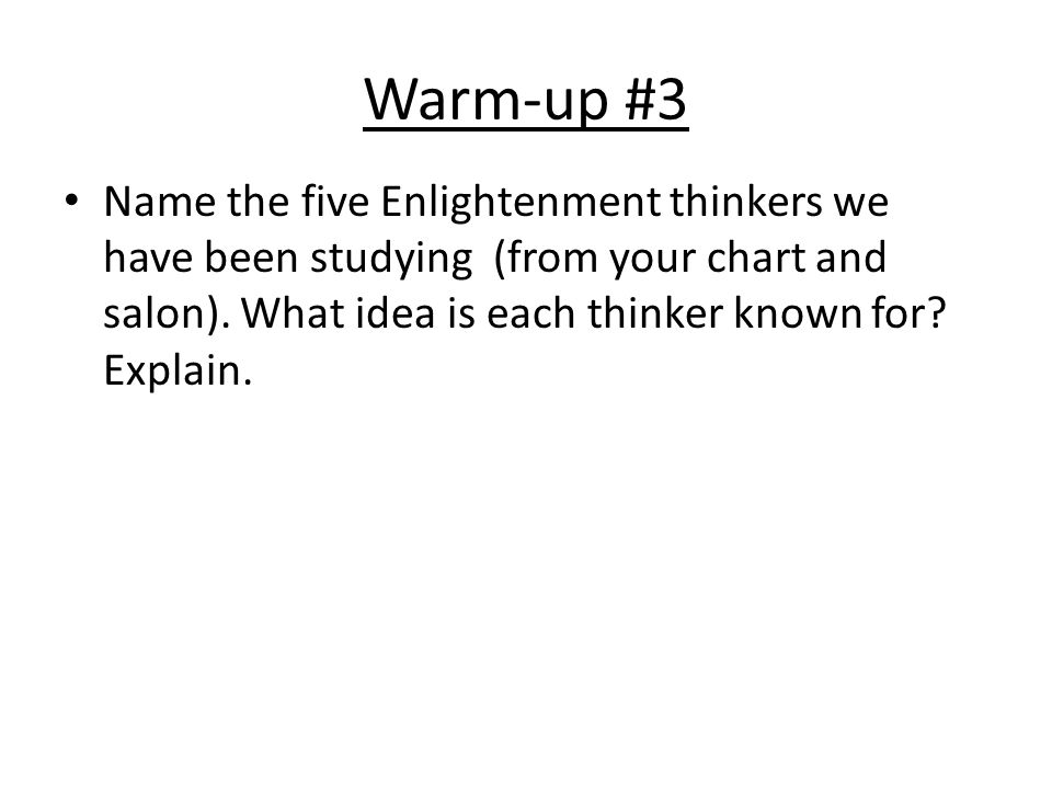 Enlightenment Thinkers Quiz 7 multiple choice question.