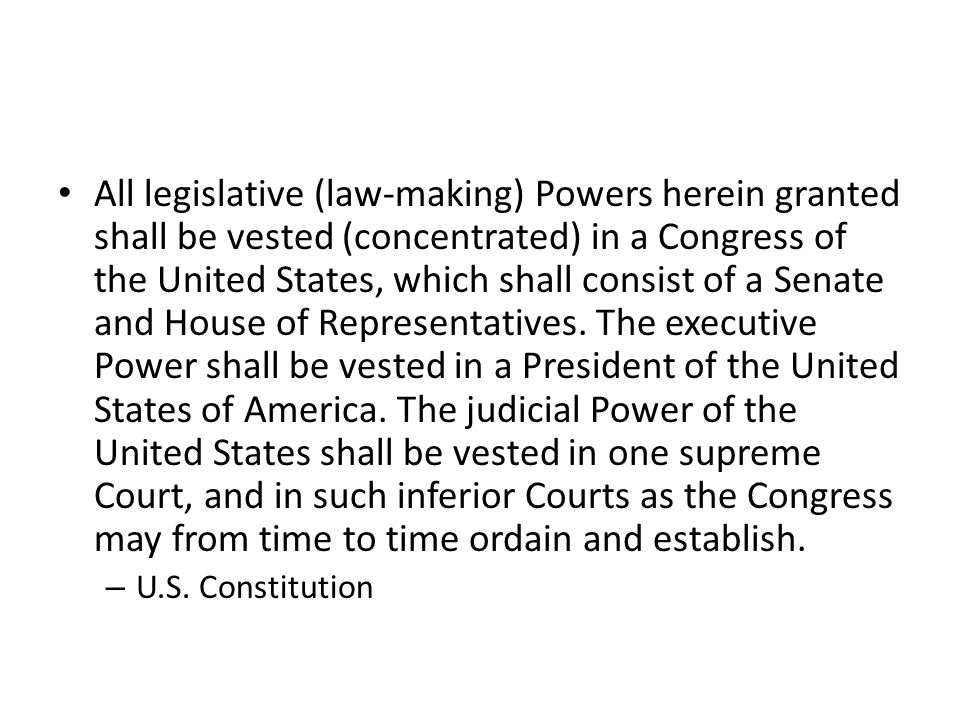 Congress shall make no law respecting an establishment of religion, or prohibiting the free exercise thereof.
