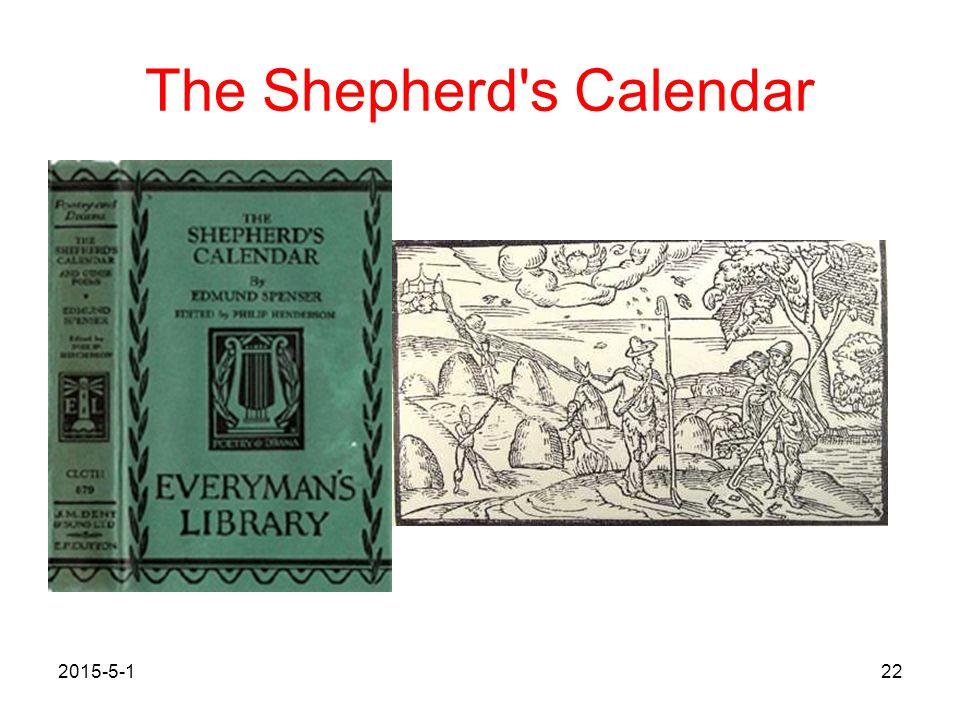 The Shepherd's Calendar 2015-5-122