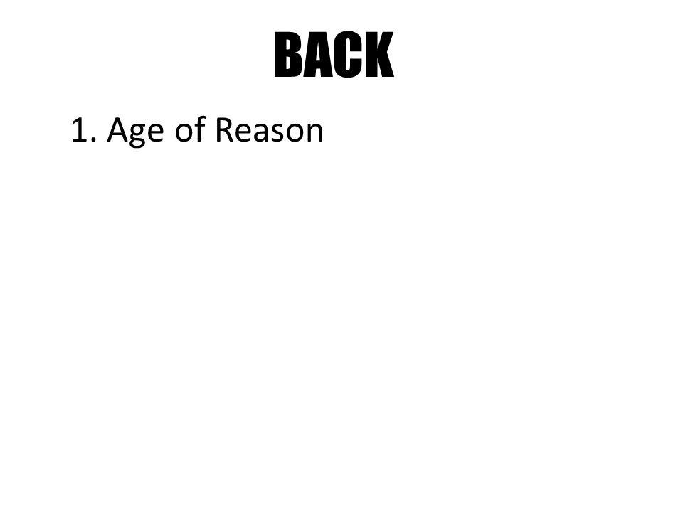 BACK 1. Age of Reason