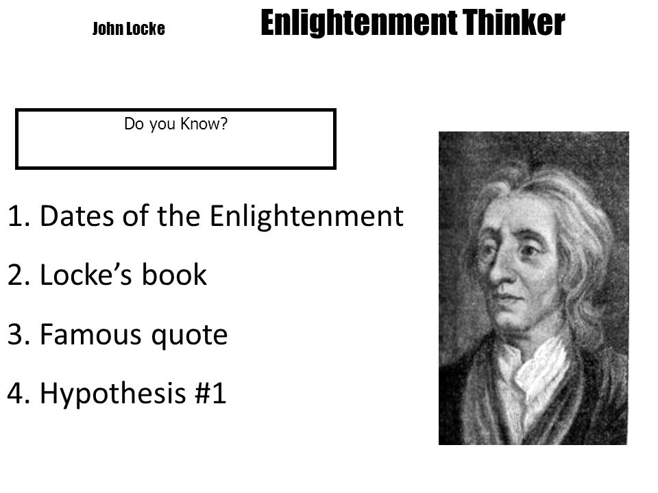 Voltaire Enlightenment Thinker Do you Know?