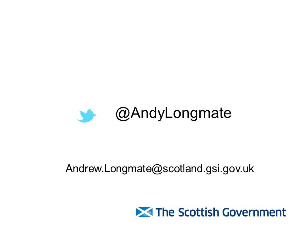 @AndyLongmate Andrew.Longmate@scotland.gsi.gov.uk