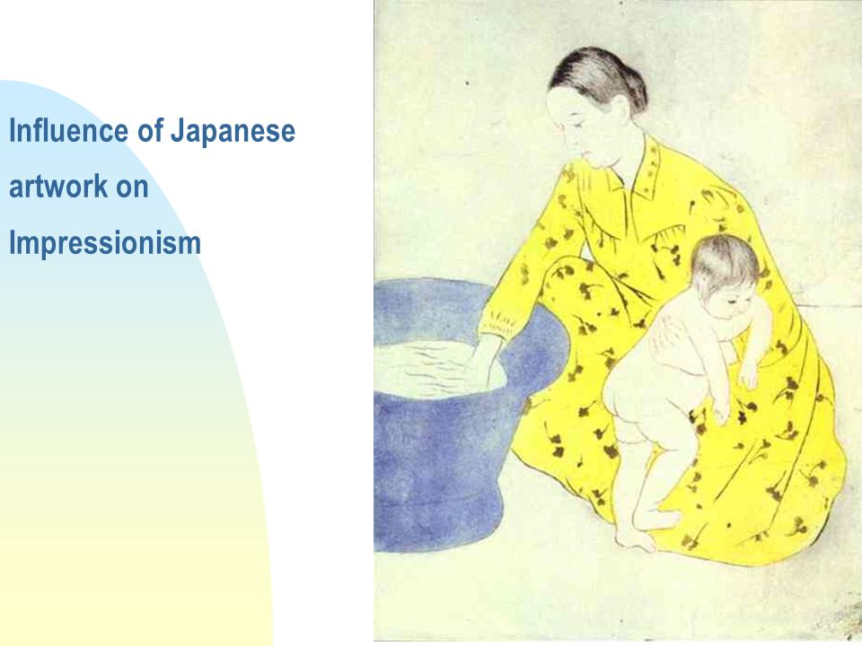 Influence of Japanese artwork on Impressionism
