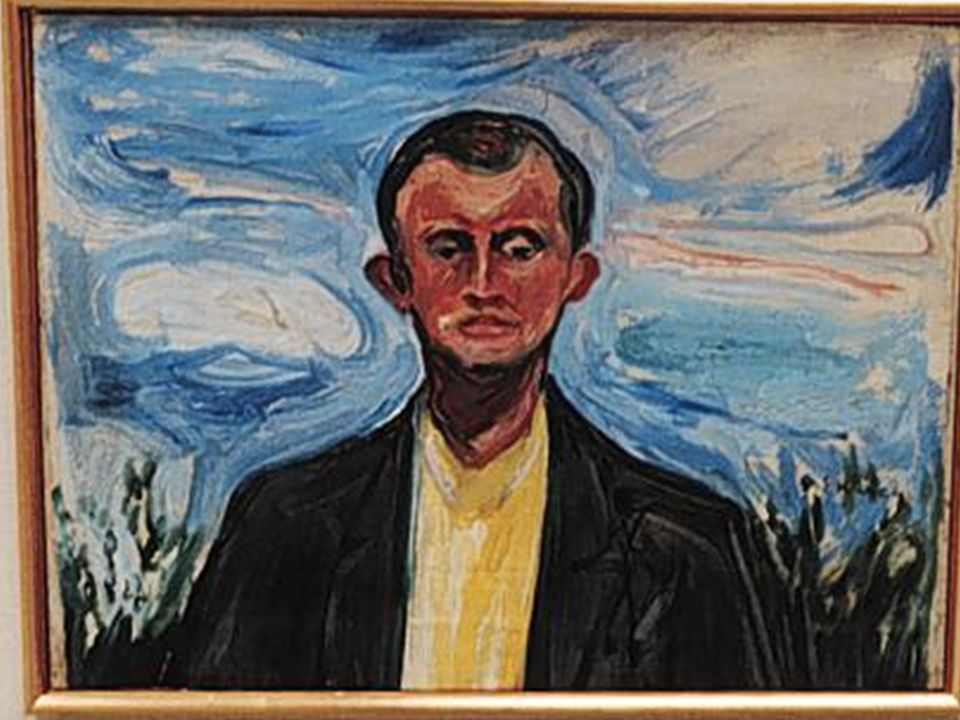 There are two style points in Edvard Munch's work that we are working with: 1.The use of wavy blended color to create movement in painting 2.