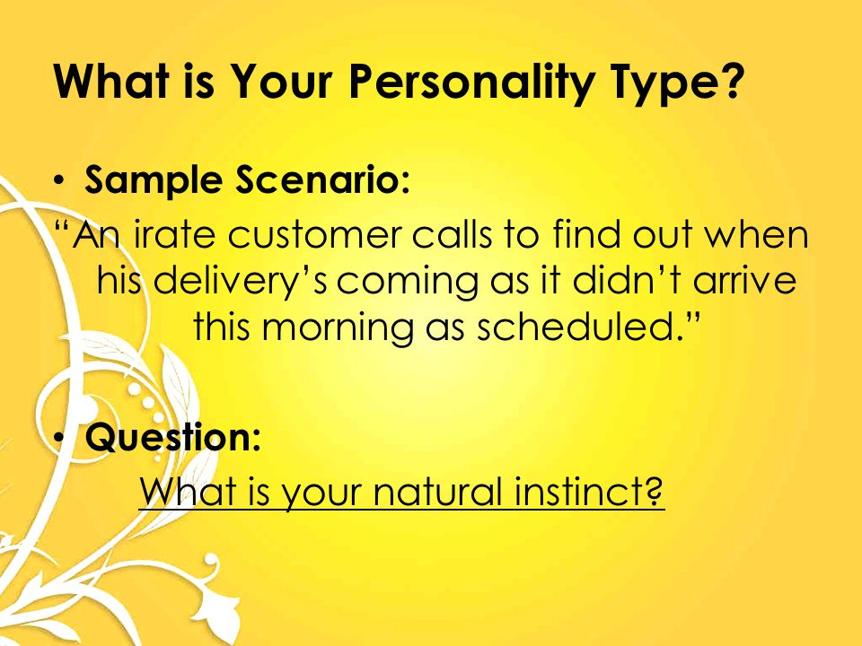 What is Your Personality Type.