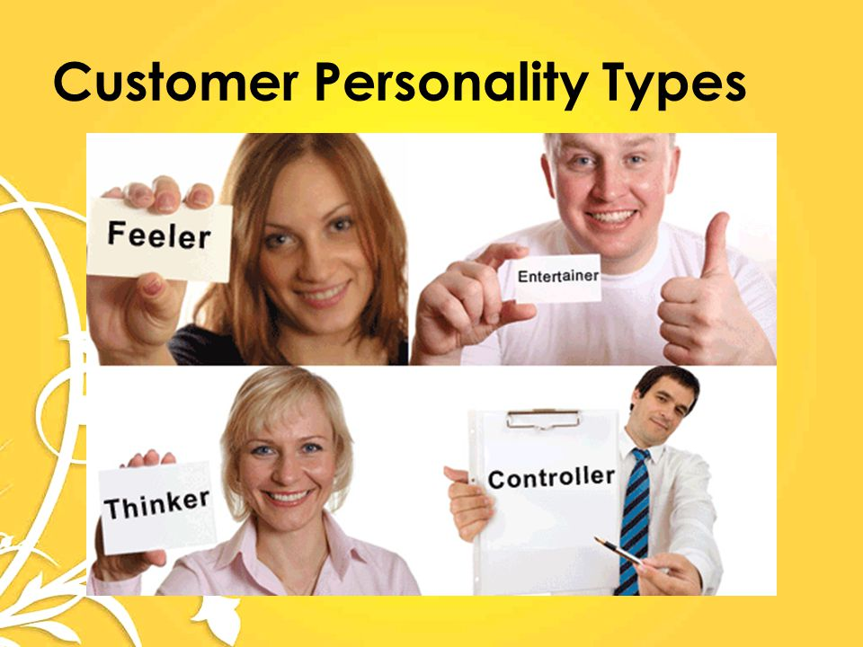 Customer Personality Types