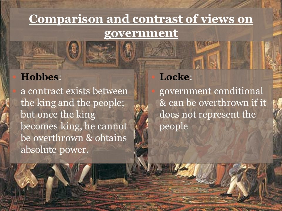 similarities between hobbes and locke