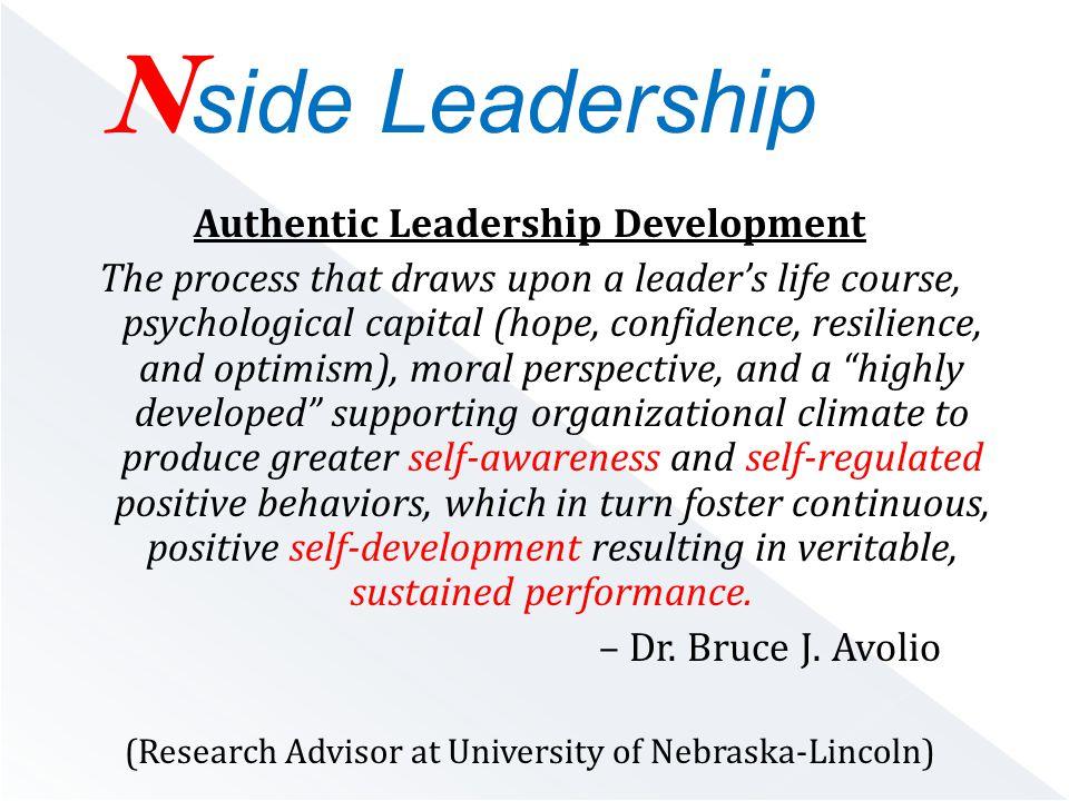  Self-Awareness: Aware of oneself, including one s traits, feelings, and behaviors.