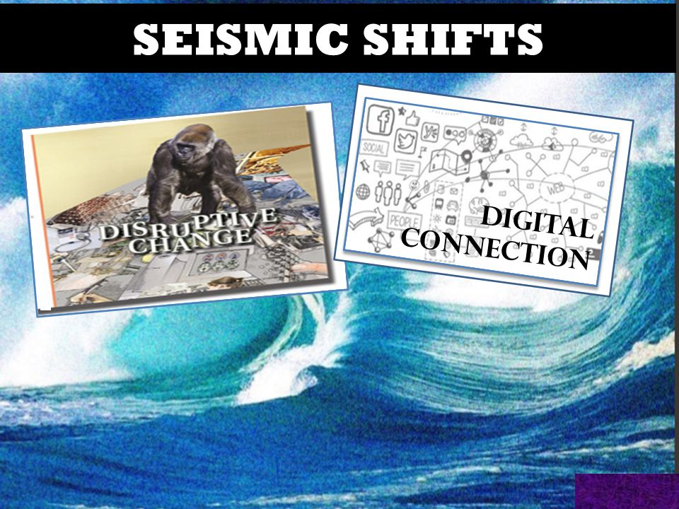 @HelenBevan #qf15 DIGITAL CONNECTION SEISMIC SHIFTS