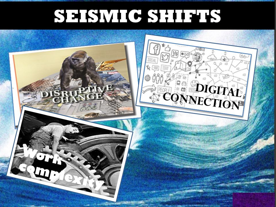 @HelenBevan #qf15 DIGITAL CONNECTION SEISMIC SHIFTS Work complexity