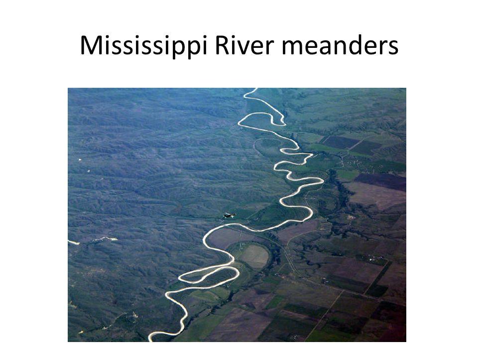 Mississippi River meanders