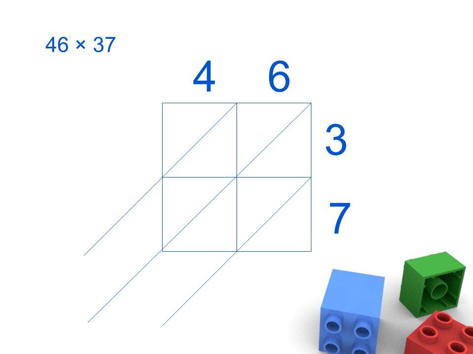 46 × 37 46 3 7