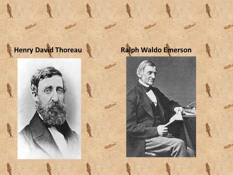Henry David ThoreauRalph Waldo Emerson