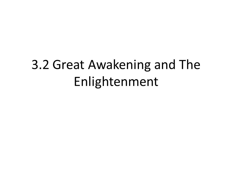 Standards 7.11.4 Explain how the main ideas of the Enlightenment can be traced back to such movements as the Renaissance, the Reformation, and the Scientific revolution and to the Greeks, Romans, and Christianity.
