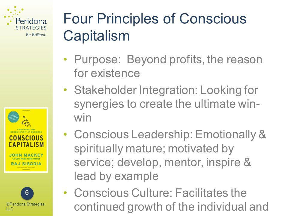 Conscious Culture: TACTILE Trust Accountability Caring Transparency Integrity Loyalty Egalitarianism © Peridona Strategies LLC 7