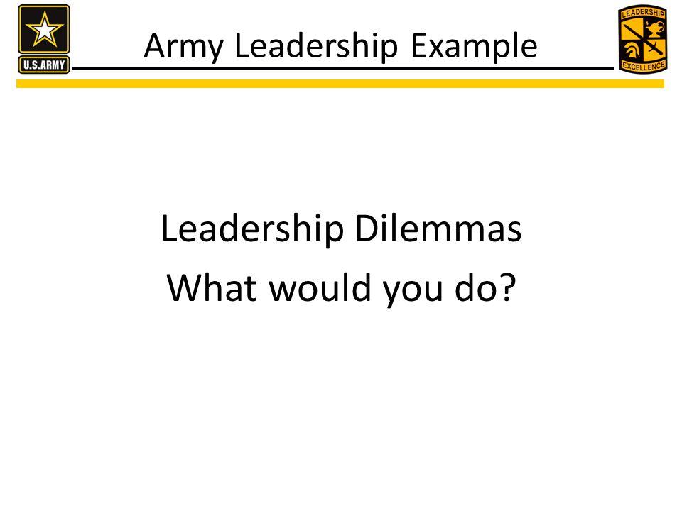 Closing Leadership Dilemmas What did we do?