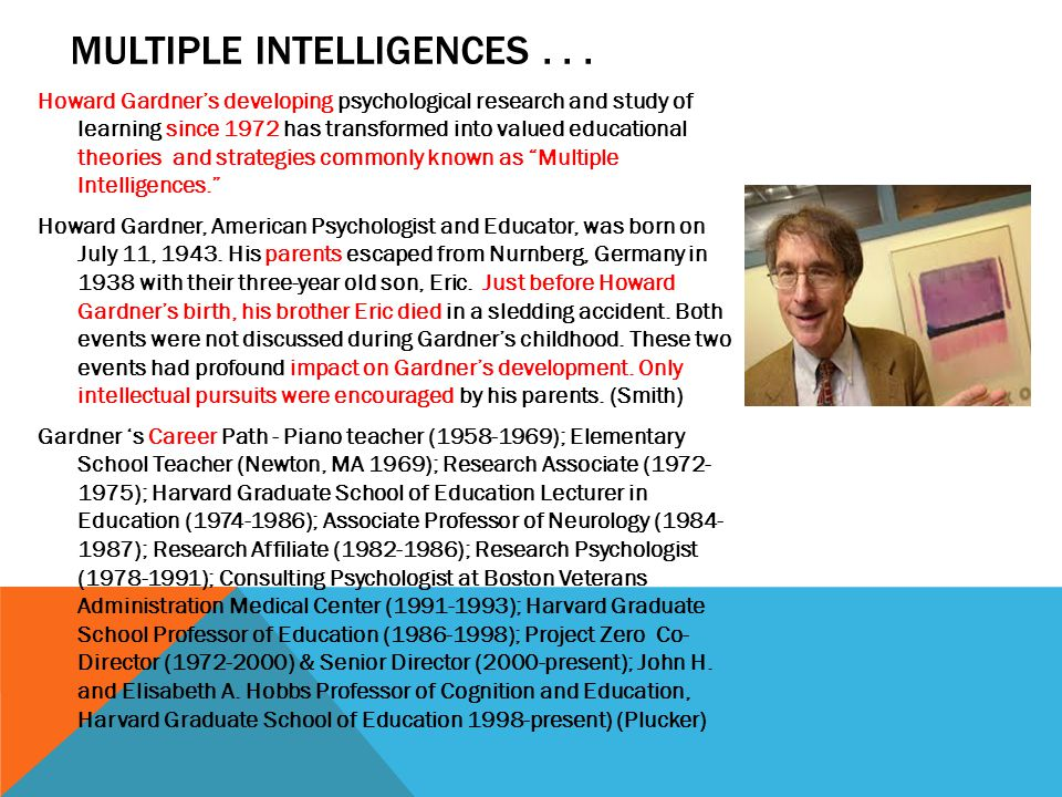 INTERPERSONAL INTELLIGENCE …capcity to understand and interact effectively with others. (campbell, p.