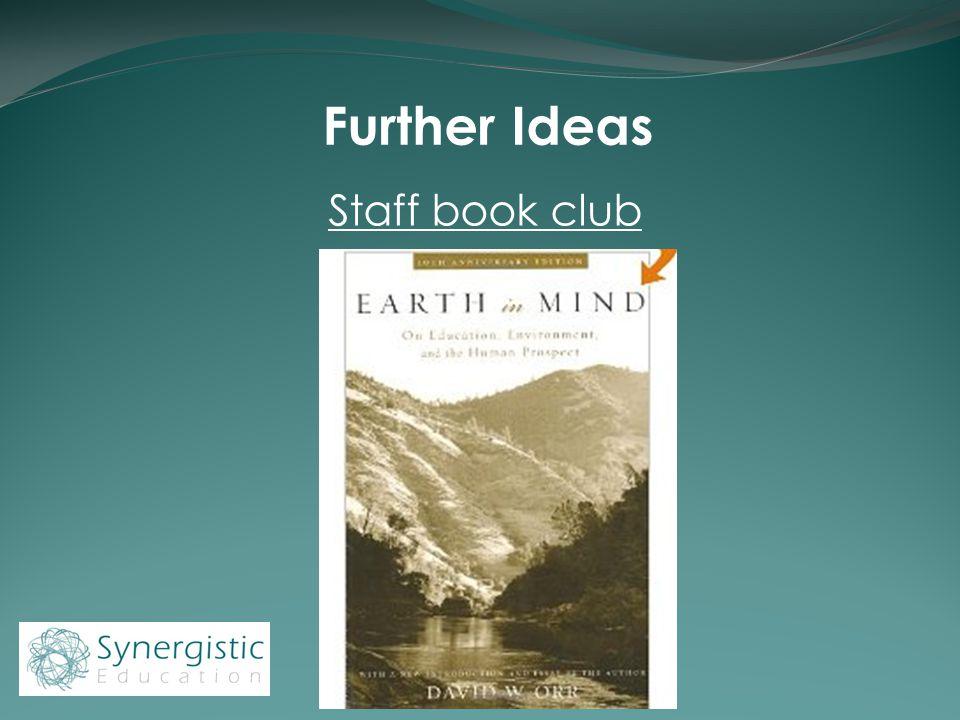 Further Ideas Staff book club