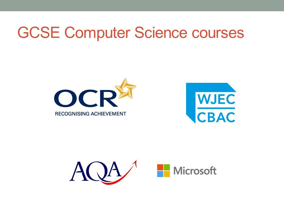 GCSE Computer Science courses