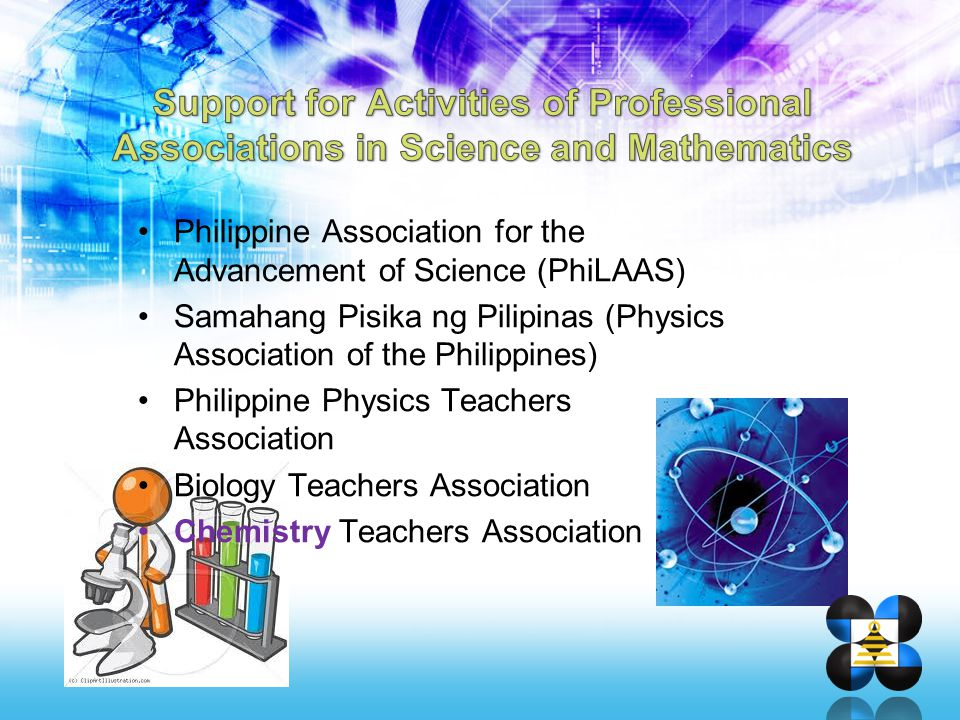 Philippine Association for the Advancement of Science (PhiLAAS) Samahang Pisika ng Pilipinas (Physics Association of the Philippines) Philippine Physi