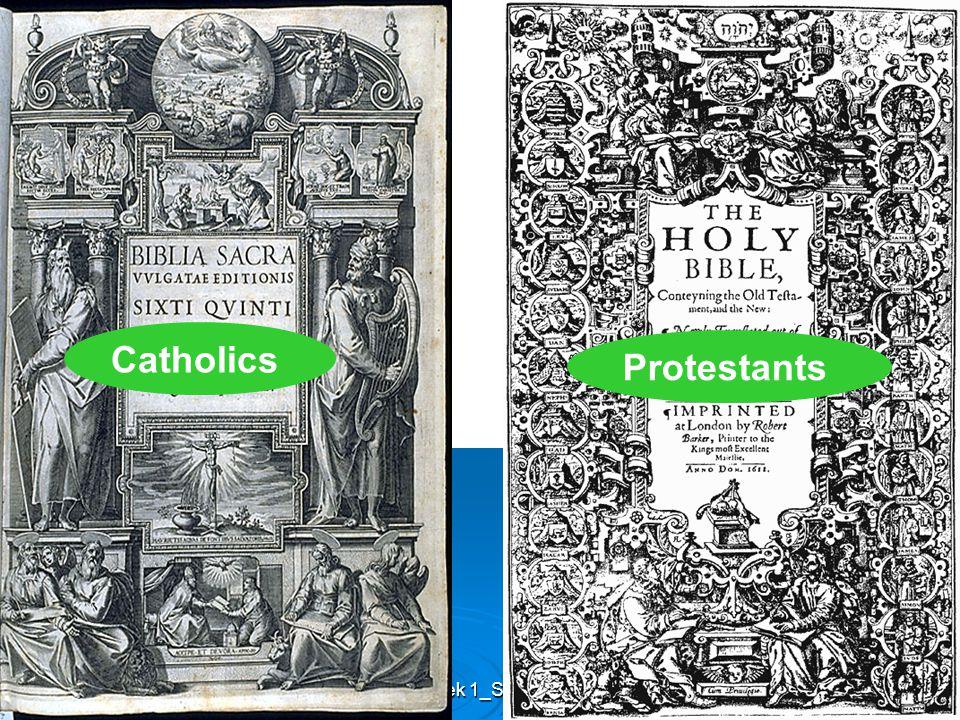 Week 1_SHEN Catholics Protestants