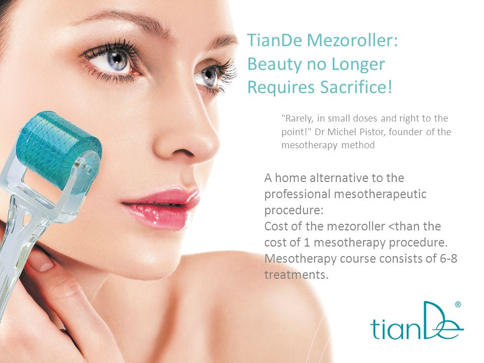 Mezoroller + NANO CORRECTOR lifting effect instead of facelift surgery Active ingredients of the transdermal complex: Collagen is a protein of youth.