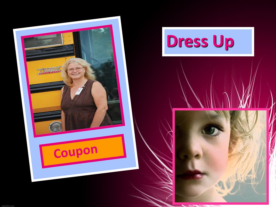 Dress Up Coupon