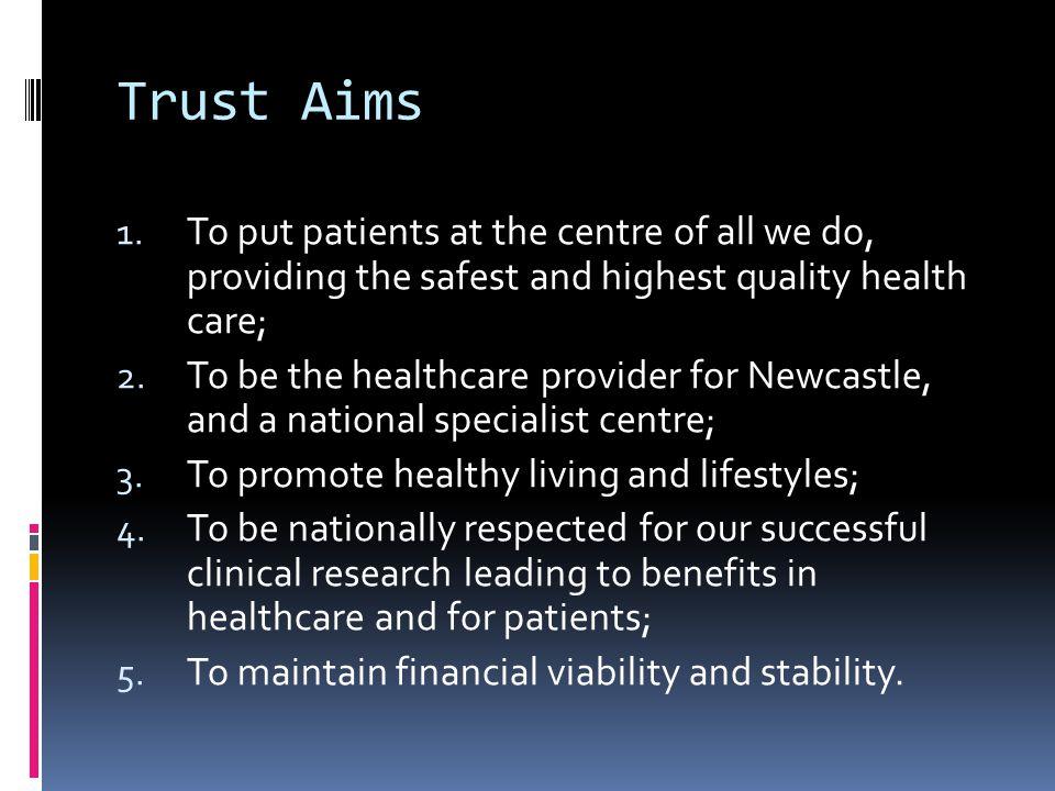 Trust Aims 1.