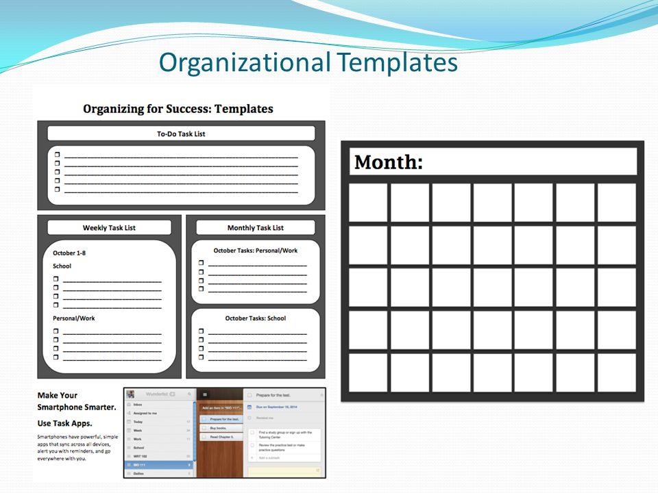 Organizational Templates